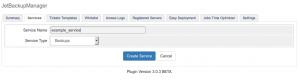 jetbackup whmcs module create new service