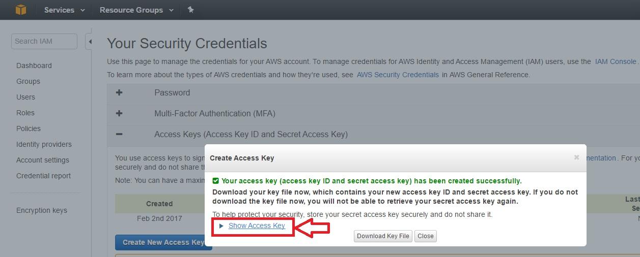 JetApps Documentation   Amazon S3 cPanel Backup Destination