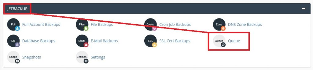 Restore an email account from CPANEL