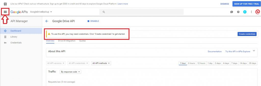 Google Drive cPanel Backup Destination