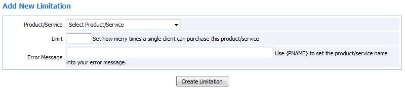 product limit 04
