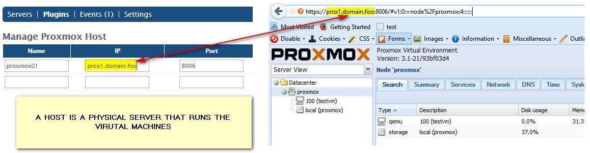 JetApps Documentation | VMM :: Adding new server :: Proxmox