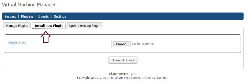 vmm install plugin